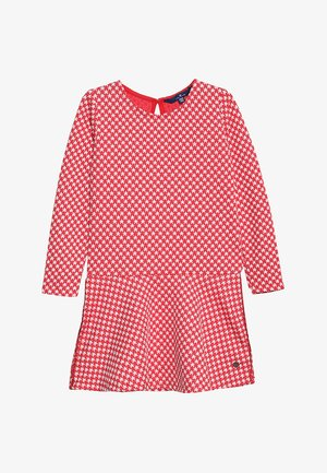 DRESS PATTERNED - Korte jurk - hibiscus