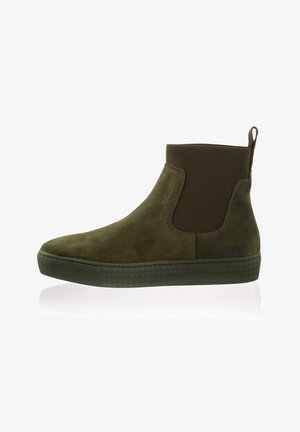 Ankle boots - khaki