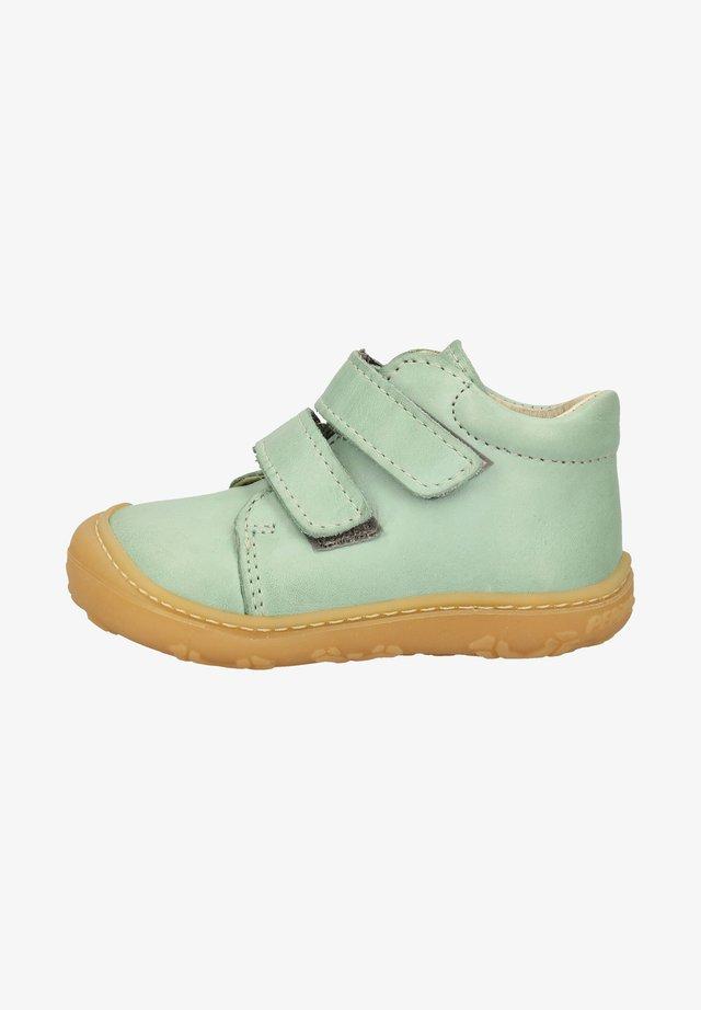 Chaussures à scratch - jade