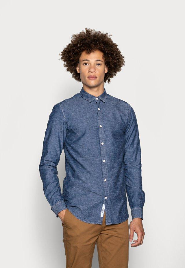 ONSTED SLUB CHAMBRAY  - Košile - dark blue denim