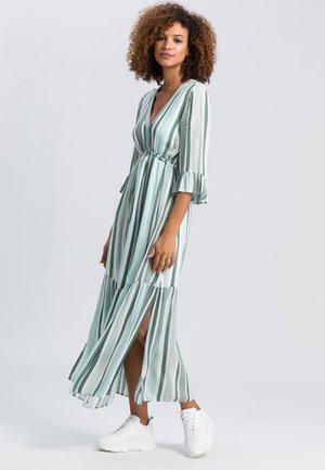 Maxi dress - jade varied