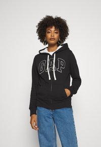 GAP - Mikina na zip - true black - 0