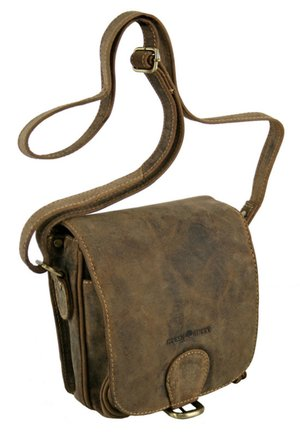 VINTAGE (18 cm) - Across body bag - brown