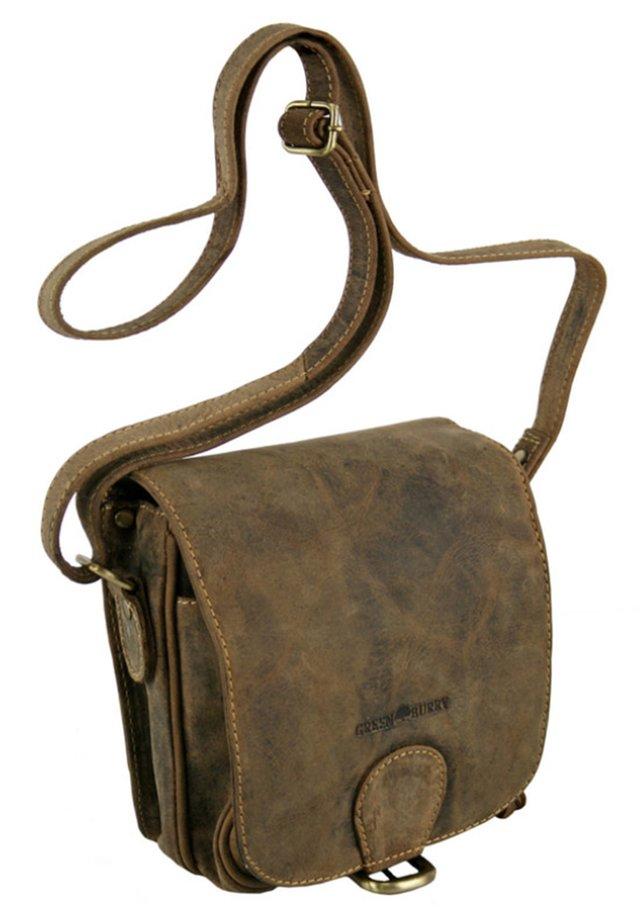 VINTAGE (18 cm) - Across body bag - brown