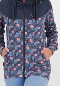 alife & kickin - Zip-up hoodie - marine - 3