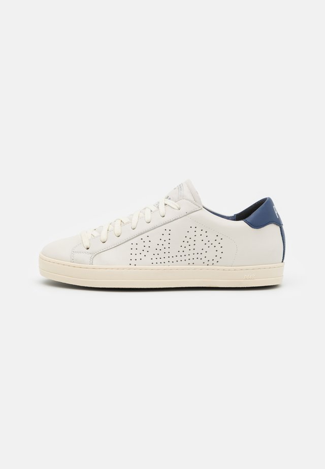 JOHN UNISEX - Matalavartiset tennarit - cream/navy