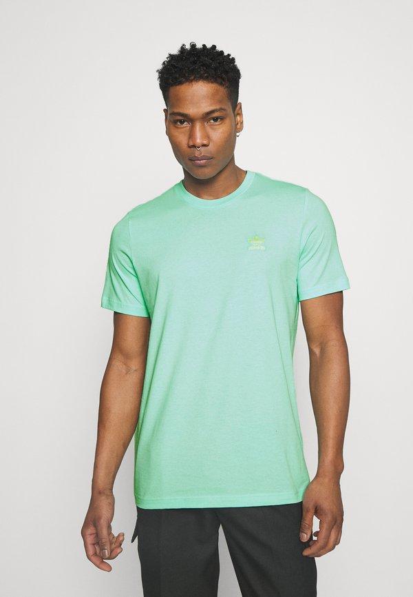 adidas Originals ESSENTIAL TEE - T-shirt basic - clear mint/miętowy Odzież Męska NAWG