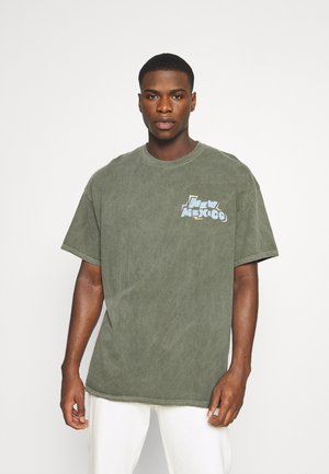 NEW MEXICO GRAPHIC - Print T-shirt - green