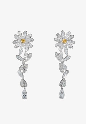 ETERNAL FLOWER - Earrings - orangy/yellow