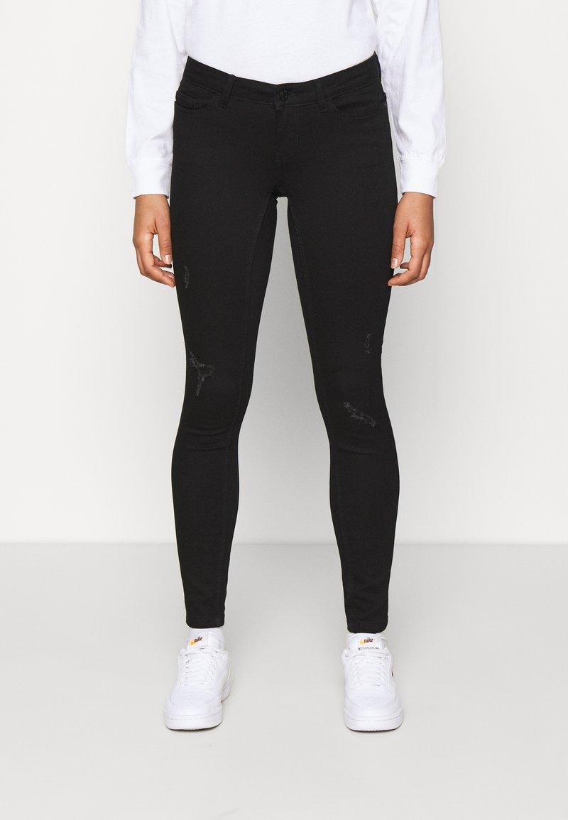 Noisy May - NMEVE - Jeans Skinny Fit - black denim