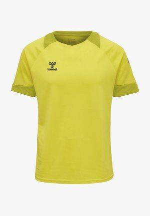 LEAD - T-shirts print - blazing yellow