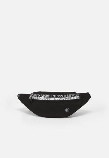 WAISTBAG MIRROR UNISEX - Bum bag - black