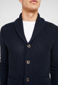 Selected Homme - Cardigan - maritime blue/black/dark navy - 5