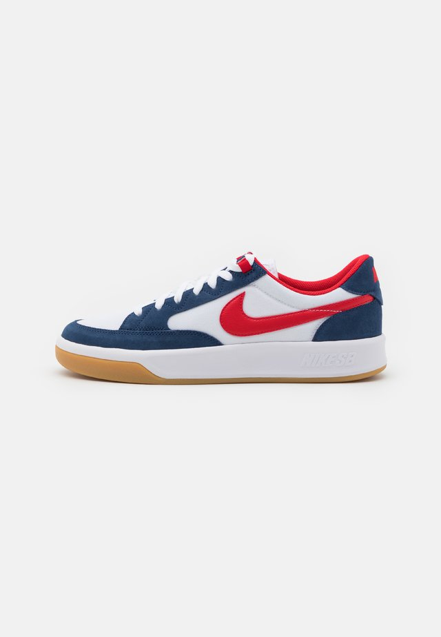 ADVERSARY PREMIUM UNISEX - Trainers - navy/university red/white