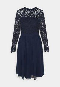 Chi Chi London - LYANA DRESS - Cocktail dress / Party dress - navy - 4
