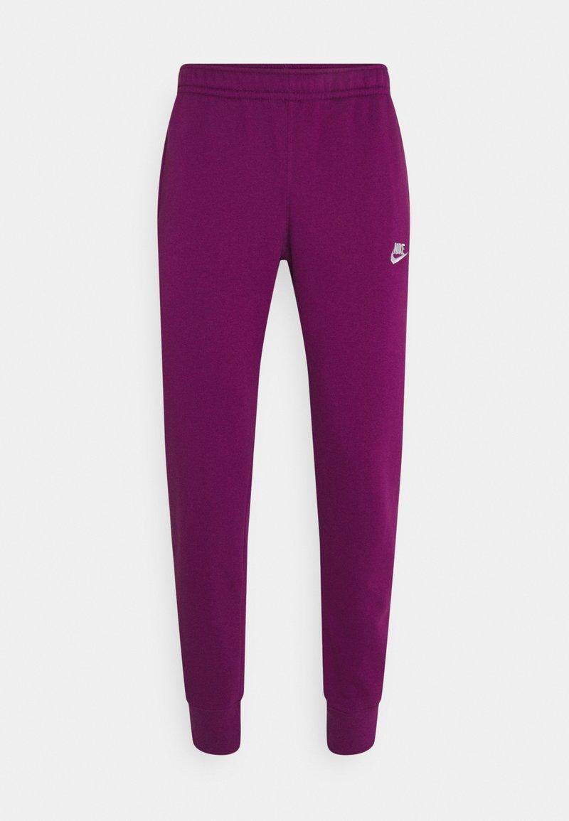 Nike Sportswear - CLUB - Tracksuit bottoms - viotech/viotech/white