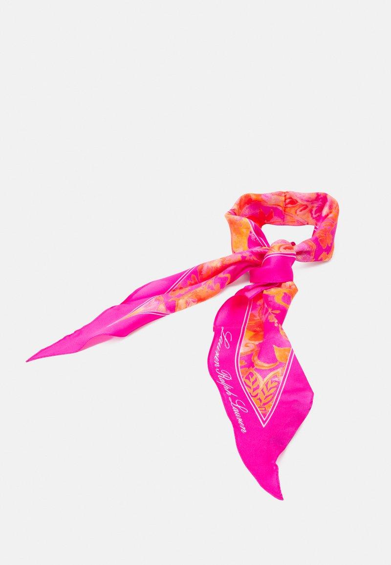 Lauren Ralph Lauren - NIKA - Šátek - deco bright pink