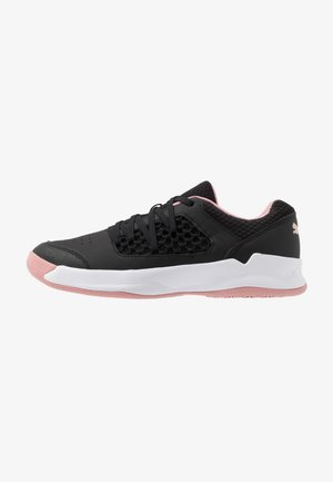 RISE CT NETFIT 3 - Handball shoes - black/bridal rose/white
