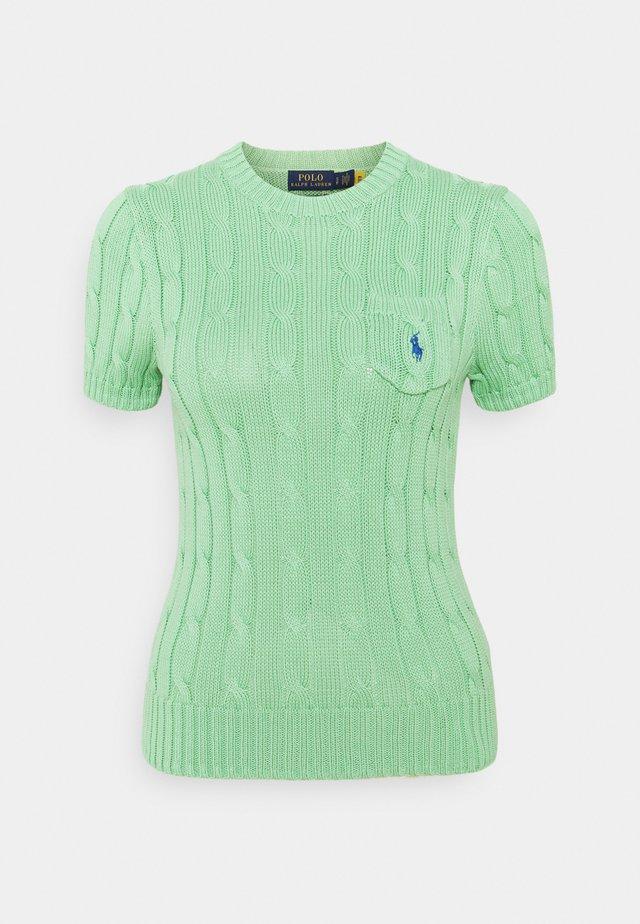 Jednoduché triko - bud green