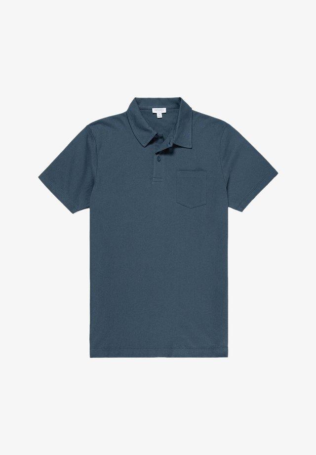 RIVIERA - Polo shirt - dark petrol