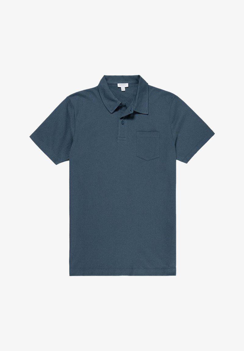 Sunspel - RIVIERA - Polo shirt - dark petrol