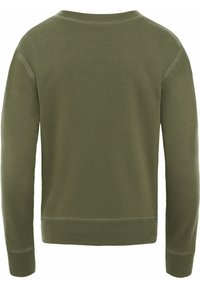 The North Face - WOMENS PARKS SLIGHTLY CROPPED CREW - Sweatshirt - burnt olive - 1