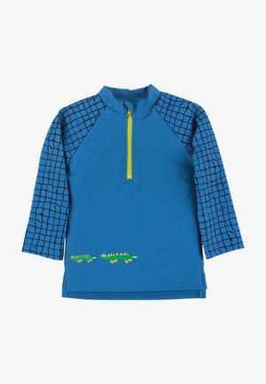 SCHWIMMSHIRT SURFSHIRT - Rash vest - blau