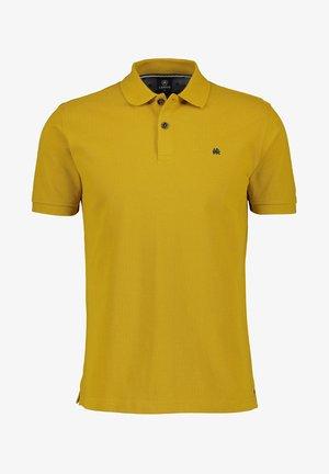 Polo shirt - oily yellow