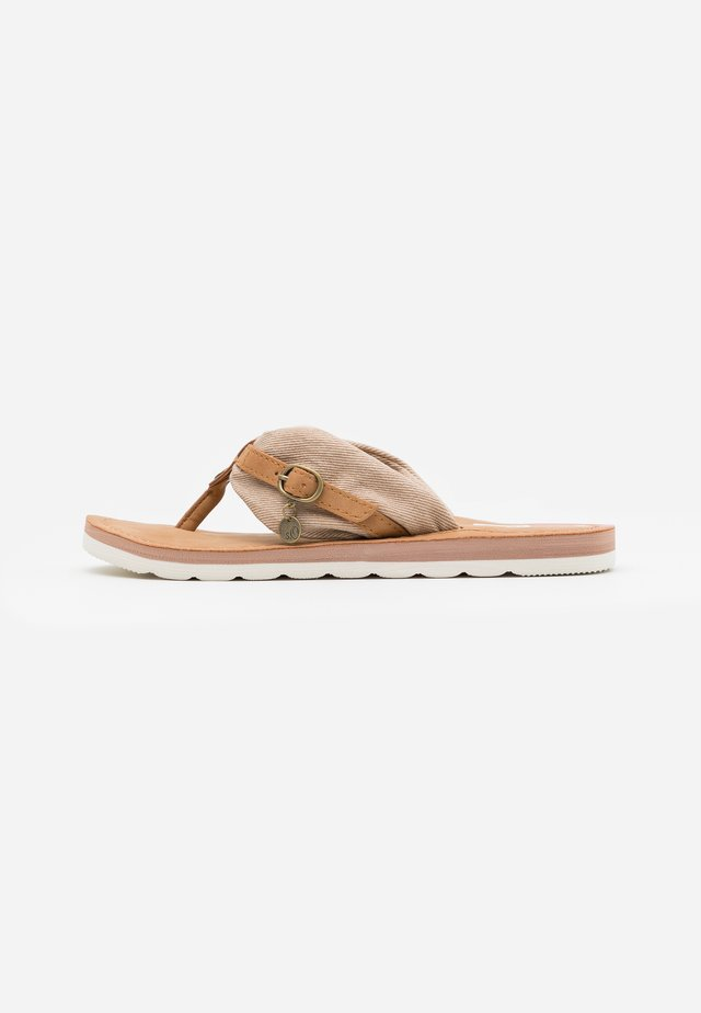SLIDES - Sandalias de dedo - old rose