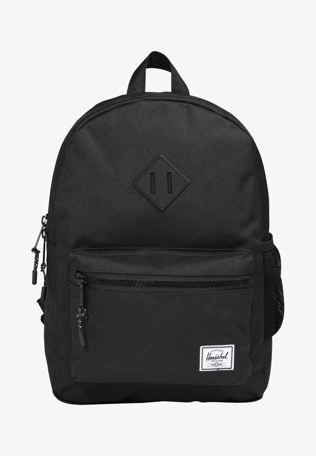 HERITAGE YOUTH - Rucksack - black