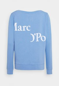 Marc O'Polo - LONG SLEEVE ROUND NECK PRINT AT BACK - Sweatshirt - northern sky - 1