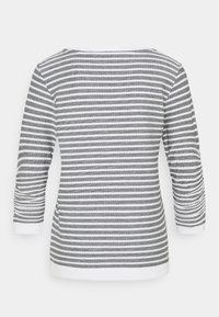 TOM TAILOR DENIM - STRIPED - Sweatshirt - blue white - 1