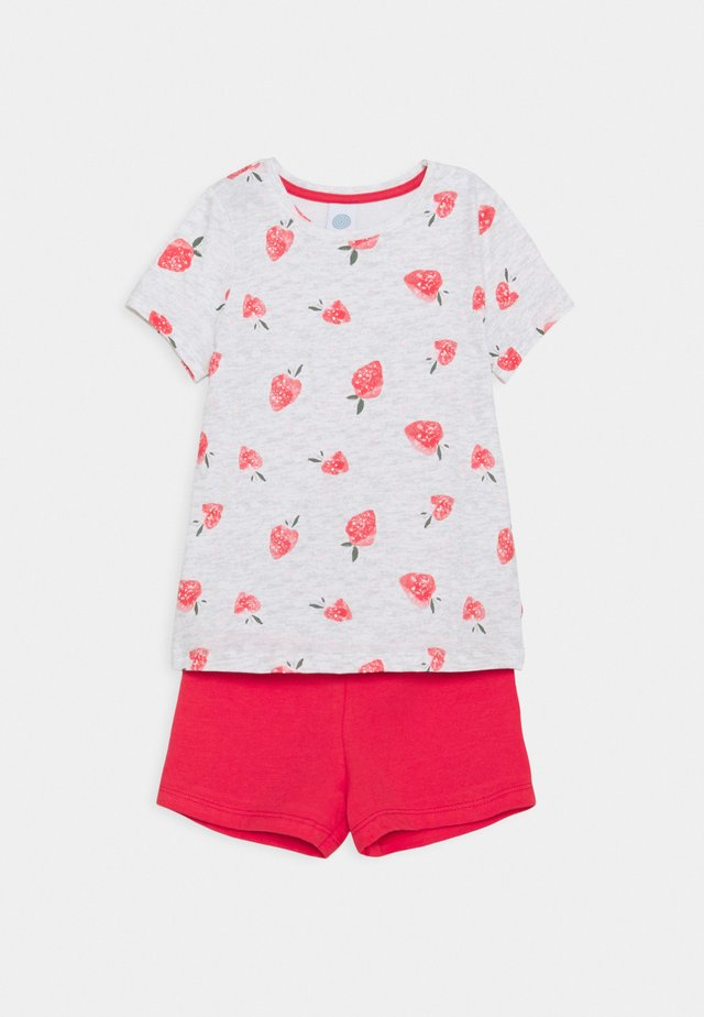 MINI ALLOVER - Pyjama - light grey/red