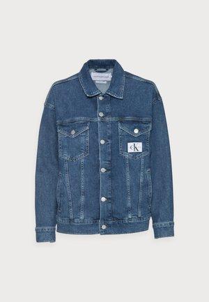 DENIM JACKET - Denim jacket - blue