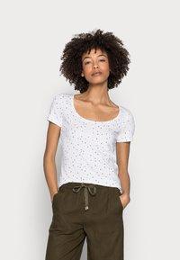 Esprit - COO DANCER - Print T-shirt - white - 0