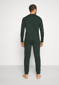 Pier One - SET - Pyjama set - dark green - 2
