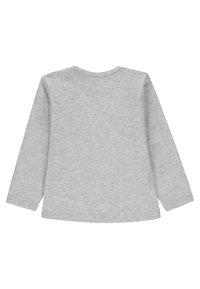 Kanz - LANGARM MIT TIERMOTIV  - Long sleeved top - grey/light grey/mottled red - 1