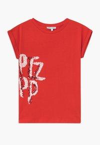 Patrizia Pepe - Camiseta estampada - red - 0