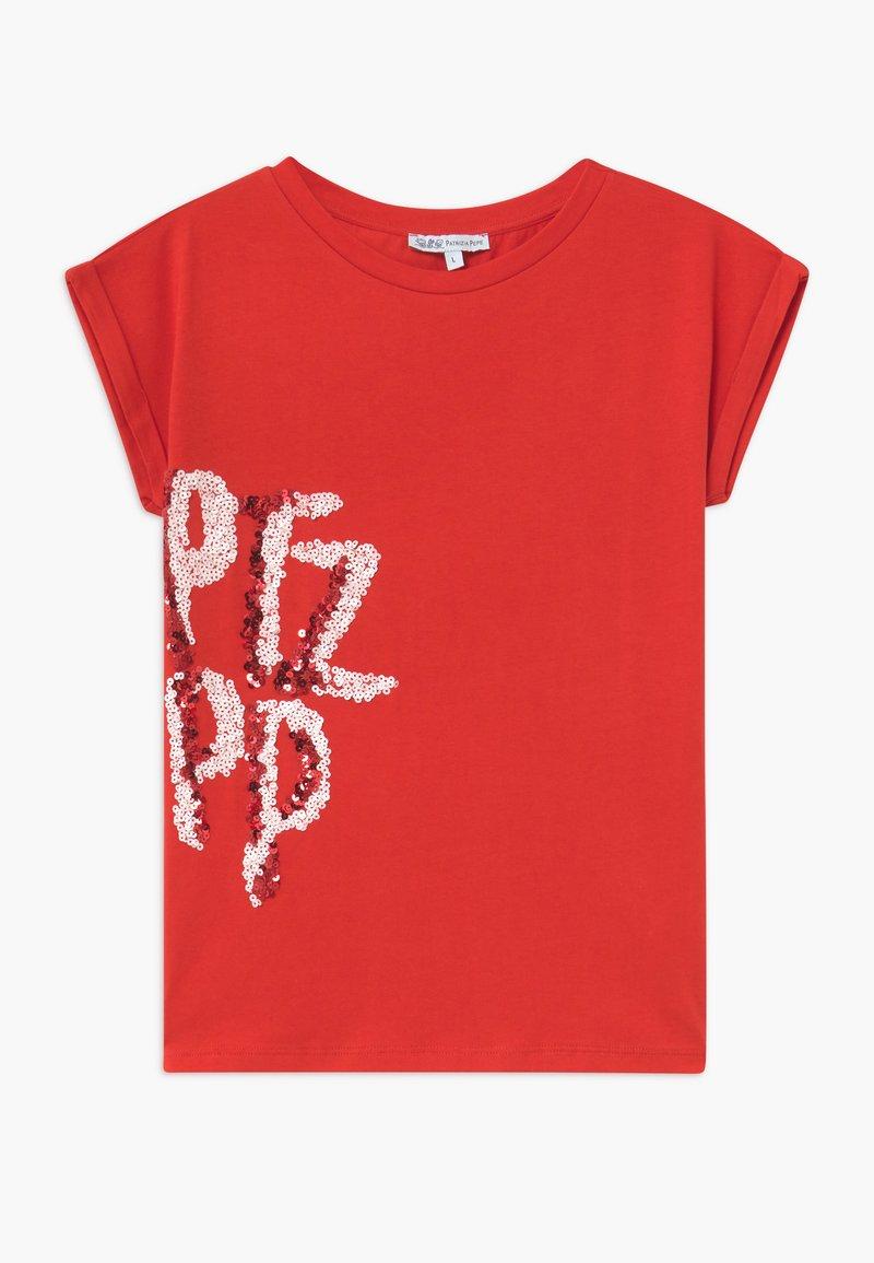 Patrizia Pepe - Camiseta estampada - red