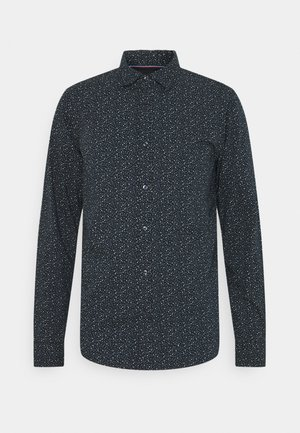 CLASSIC ALL-OVER PRINTED SHIRT REGULAR FIT - Skjorta - dark blue