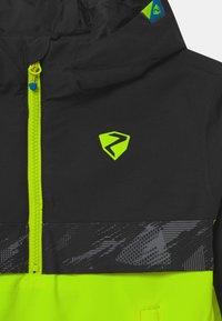 Ziener - ABSALOM UNISEX - Snowboard jacket - poison yellow - 3