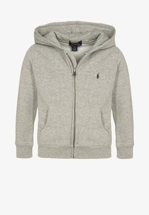 Zip-up hoodie - dark sport heather