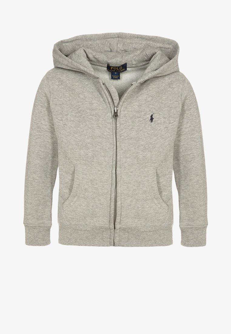 Polo Ralph Lauren - veste en sweat zippée - dark sport heather