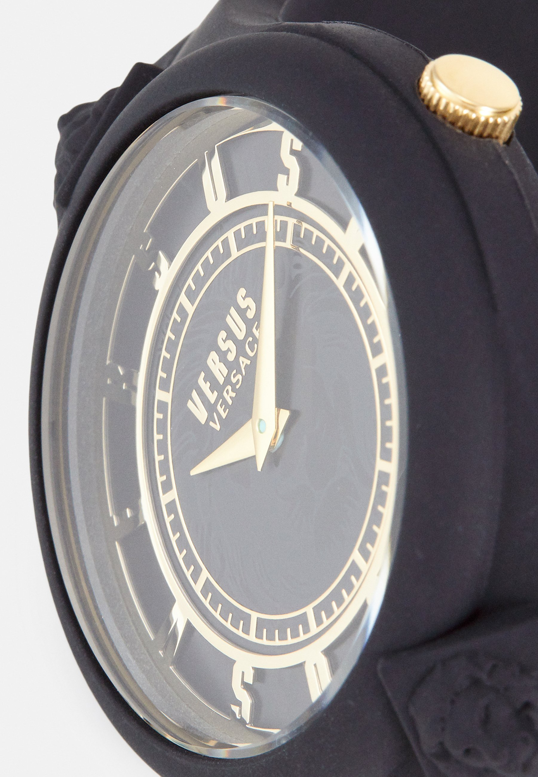 Versus Versace FIRE ISLAND STUDS - Klokke - black/svart jXdqJJC3UGRDBgi