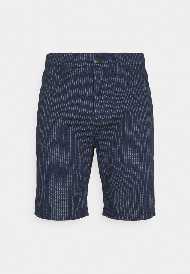 CHINO - Shorts - navy white