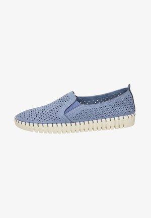 Slip-ons - blauw