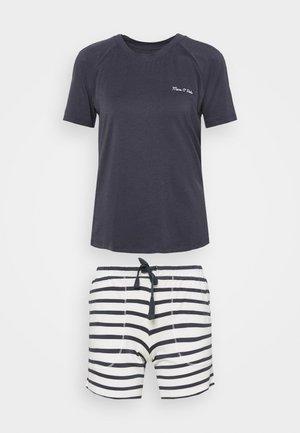 LOUNGE CREWNECK SET - Pyjamas - anthrazit