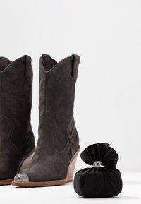 Bronx - NEW KOLE - High heeled boots - asphalt - 7