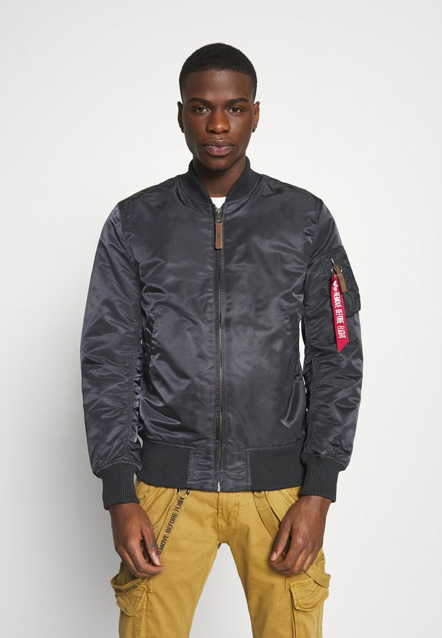 Bomber Jacket - iron grey