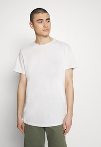 Jack & Jones PREMIUM - JJEASHER TEE O-NECK NOOS - Basic T-shirt - cloud dancer - 0
